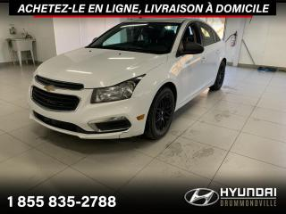 Used 2016 Chevrolet Cruze LS + GARANTIE + A/C + MAGS + CRUISE + WO for sale in Drummondville, QC