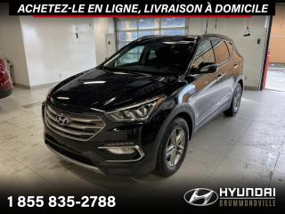 Used 2017 Hyundai Santa Fe Sport PREMIUM + GARANTIE + CAMERA + A/C + WOW for sale in Drummondville, QC