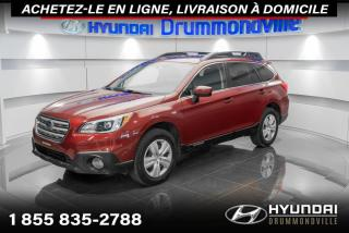 Used 2017 Subaru Outback AWD + GARANTIE + CAMERA + MAGS + WOW !! for sale in Drummondville, QC