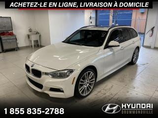 Used 2017 BMW 3 Series 330i X-DRIVE + GARANTIE + M PACK + NAVI for sale in Drummondville, QC