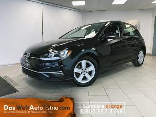 Used 2018 Volkswagen Golf Comfortline, Similicuir, Automatique for sale in Sherbrooke, QC