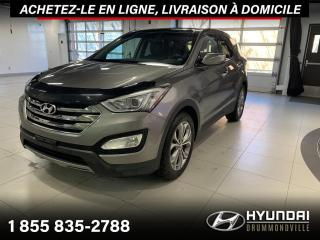 Used 2013 Hyundai Santa Fe LIMITED + GARANTIE + NAVI + TOIT PANO + for sale in Drummondville, QC