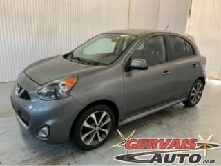 Used 2016 Nissan Micra SR Mags Caméra A/C Bluetooth for sale in Trois-Rivières, QC