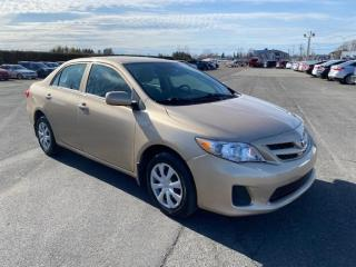 Used 2012 Toyota Corolla Ce ** 46 700 km ** for sale in Pintendre, QC
