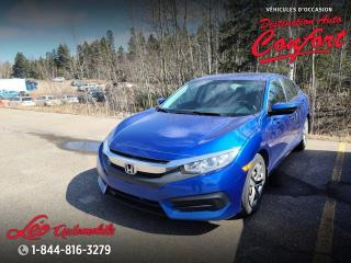 Used 2016 Honda Civic LX, 4 portes, boîte manuelle for sale in Chicoutimi, QC