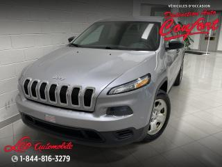Used 2018 Jeep Cherokee Sport TA for sale in Chicoutimi, QC