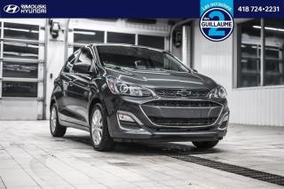 Used 2020 Chevrolet Spark LT chez Rimouski Hyundai for sale in Rimouski, QC