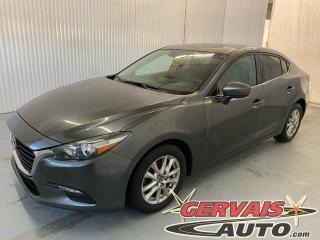 Used 2017 Mazda MAZDA3 SE GPS Cuir Bluetooth Caméra Mags *Transmission Automatique* for sale in Trois-Rivières, QC