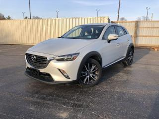 Used 2018 Mazda CX-3 GT 2WD for sale in Cayuga, ON