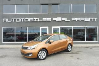 Used 2012 Kia Rio AUTOMATIQUE - GARANTIE - AUX for sale in Québec, QC