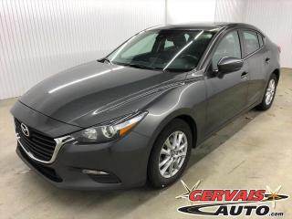 Used 2017 Mazda MAZDA3 GS GPS Toit ouvrant Caméra Bluetooth Mags for sale in Trois-Rivières, QC