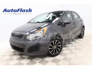 Used 2014 Kia Rio LX+ *HATCHBACK *AUTO *CRUISE* BLUETOOTH *A/C for sale in St-Hubert, QC
