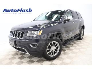 Used 2014 Jeep Grand Cherokee LIMITED 3.6L *Cuir/Leather *Toit-Ouvrant/Sunroof for sale in St-Hubert, QC