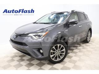 Used 2018 Toyota RAV4 LIMITED* AWD* CAMERA* GPS* TOIT/ROOF* BLUETOOTH* for sale in St-Hubert, QC