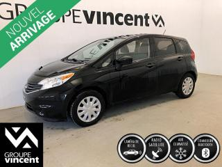 Used 2016 Nissan Versa NOTE SV ** GARANTIE 10 ANS ** Fiable, économique et pratique! for sale in Shawinigan, QC