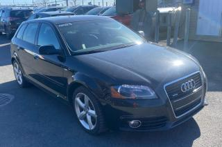 Used 2013 Audi A3 PREMIUM PLUS S-LINE QUATTRO CUIR TOIT MAGS for sale in St-Hubert, QC