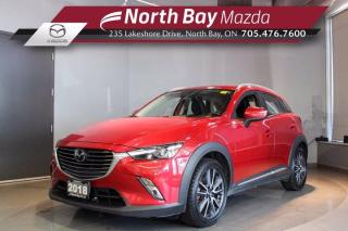 Used 2018 Mazda CX-3 GT AWD - Bose - Nav - Sunroof  - Floor Liners! for sale in North Bay, ON