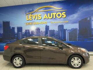 Used 2012 Kia Rio LX+ AUTOMATIQUE AIR CLIMATISE 103200 KM for sale in Lévis, QC