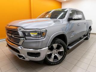 Used 2019 RAM 1500 LARAMIE CREW 4X4 CUIR NAV TOIT PANO *ÉCRAN 12 PO.* for sale in Mirabel, QC