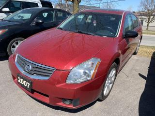Used 2007 Nissan Maxima SE for sale in Peterborough, ON