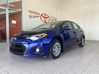 Used 2016 Toyota Corolla * S * CAMERA DE RECUL * SIEGES CHAUFFANTS * for sale in Mirabel, QC