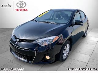 Used 2016 Toyota Corolla bas km sport for sale in Rouyn-Noranda, QC