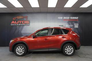 Used 2013 Mazda CX-5 GS AWD AUTO MAGS TOIT OUVRANT CAMERA 165 274 KM !! for sale in Lévis, QC