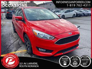 Used 2016 Ford Focus SE (frais vip 395$ non inclus) for sale in Rouyn-Noranda, QC