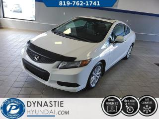 Used 2012 Honda Civic EX  TOIT OUVRANT/ BLUETOOH/ GROUPE ELCTRIQUE (Frais vip 495$ non inclus) for sale in Rouyn-Noranda, QC