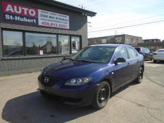 Used 2005 Mazda MAZDA3 GX for sale in St-Hubert, QC