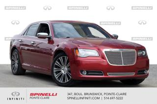 Used 2013 Chrysler 300 LEATHER / GPS / BACKUP CAMERA CUIR / TOIT OUVRANT / CAMERA DE RECUL for sale in Montréal, QC
