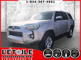 Used 2018 Toyota 4Runner 4RUNNER SR5 CUIR TOIT 4X4 for sale in Jonquière, QC