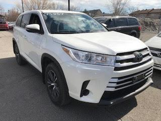 Used 2019 Toyota Highlander LE AWD CAMERA RECUL MAGS for sale in Île-Perrot, QC