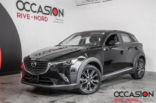 Used 2018 Mazda CX-3 GT AWD NAVI+CUIR+TOIT.OUVRANT for sale in Boisbriand, QC