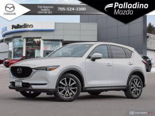 Used 2018 Mazda CX-5 GT - ONE OWNER - NO ACCIDENTS - DEALER SERVICED for sale in Sudbury, ON