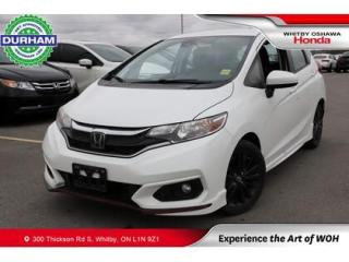 Used 2018 Honda Fit w/Honda Sensing for sale in Whitby, ON