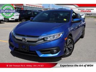 Used 2017 Honda Civic EX-T | Manual | Power Moonroof for sale in Whitby, ON