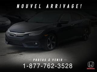 Used 2016 Honda Civic TOURING + TOIT + NAVI + WOW ! for sale in St-Basile-le-Grand, QC