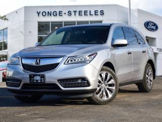 Used 2015 Acura MDX Nav Pkg for sale in Thornhill, ON