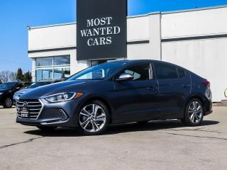Used 2017 Hyundai Elantra GLS|SUNROOF|ALLOYS|FOG LIGHTS|XENONS|BLIND SPOT for sale in Kitchener, ON