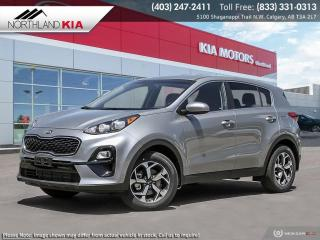 New 2021 Kia Sportage LX for sale in Calgary, AB