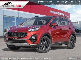 New 2021 Kia Sportage EX S for sale in Calgary, AB