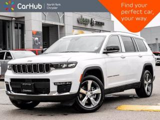 New 2021 Jeep Grand Cherokee L Limited 4x4 Luxury Group II Heated & Vented Seats for sale in Thornhill, ON