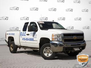 Used 2010 Chevrolet Silverado 2500 HD LT | NO ACCIDENTS | 4WD | KEYLESS ENTRY | for sale in Barrie, ON