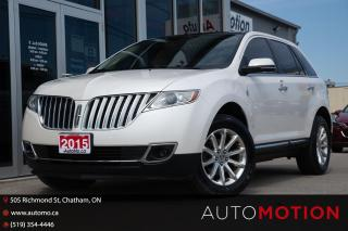 Used 2015 Lincoln MKX for sale in Chatham, ON