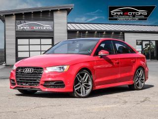 Used 2016 Audi S3 2.0T Technik S3 TECHNIK for sale in Stittsville, ON