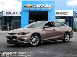Used 2018 Chevrolet Malibu LT REMOTE START! | WIRELESS CHARGING! for sale in Burlington, ON