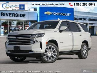 New 2021 Chevrolet Tahoe HIGH COUNTRY for sale in Brockville, ON