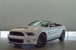 Used 2011 Ford Mustang Shelby GT500 GT500 Convertible for sale in Langley City, BC