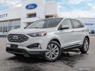 New 2021 Ford Edge Titanium for sale in Winnipeg, MB